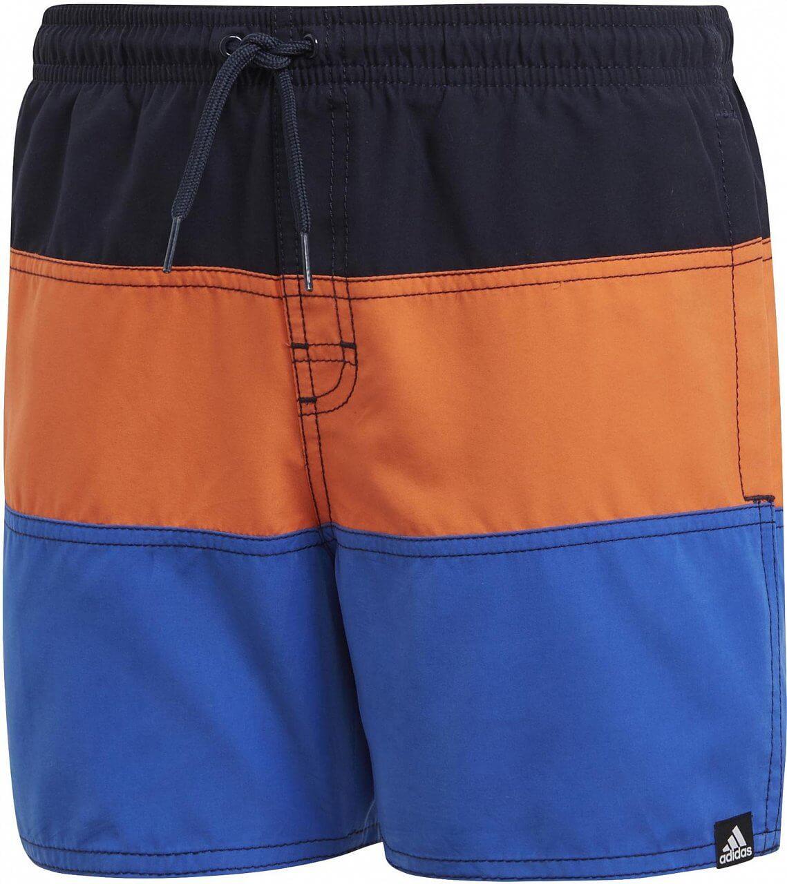 Chlapecké plavky adidas Youth Boys Colorblock Swim Shorts Short-Length