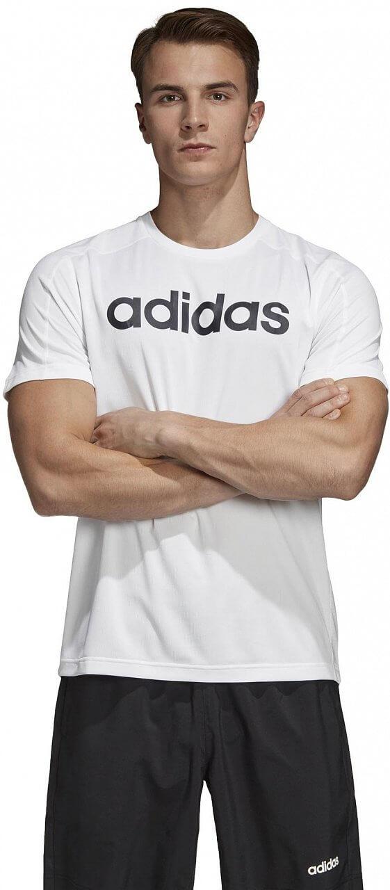 adidas Design2Move Climacool Logo Tee - pánské tričko