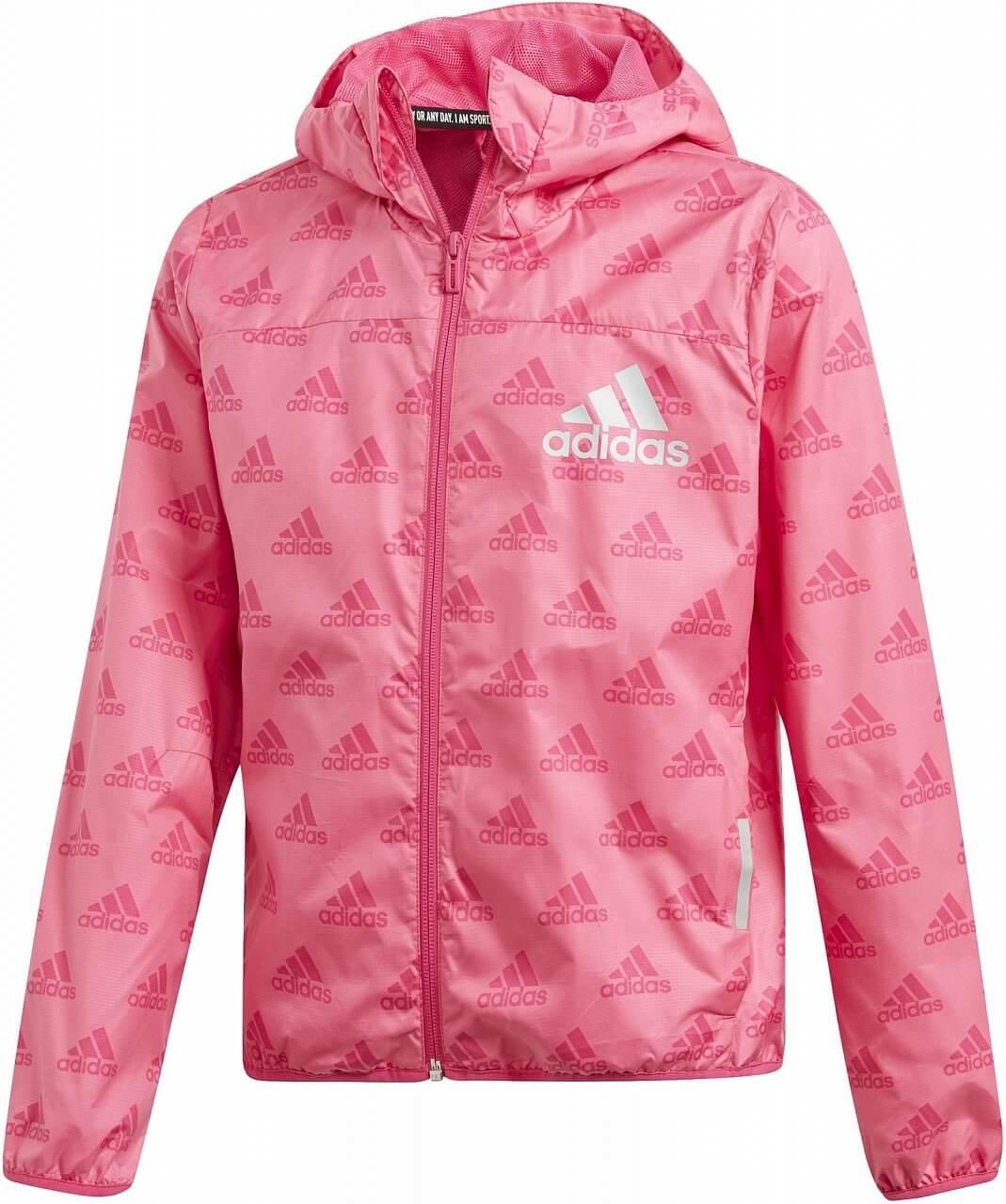 2a632a1bf83 adidas Youth Girls Must Haves Wind Jacket. Dívčí sportovní bunda