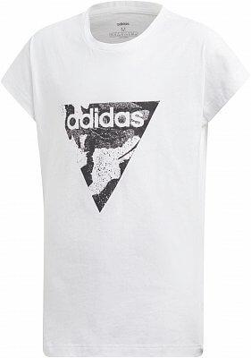Dívčí sportovní tričko adidas Youth Girls Essentials AOP Pack Loose Tee