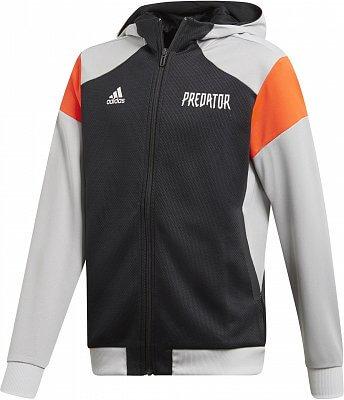 029c2b0302 Chlapecká sportovní mikina adidas Youth Boys Predator Full Zip Hoodie