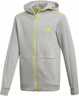 Chlapecká sportovní mikina adidas Youth Boys Athletics ID Spacer Fullzip