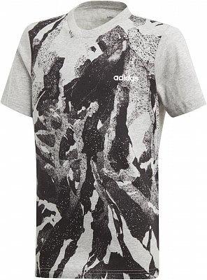 e68c88ed6518 Chlapčenské športové tričko adidas Youth Boys Essentials AOP Print Tee
