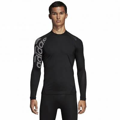 Pánské sportovní tričko adidas Alphaskin Sport Longsleeve Tee Badge Of Sport ddee2991b6
