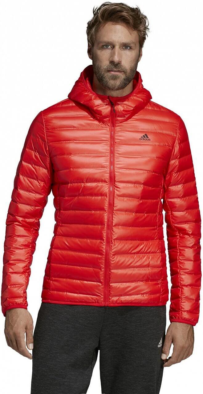 5fb7f68b6 adidas Varilite Down Hooded Jacket. Pánská sportovní bunda