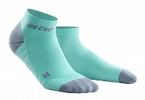 CEP Kotníkové ponožky 3.0 pánské ledově modrá / šedá