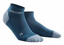 CEP Kotníkové ponožky 3.0 pánské modrá / šedá