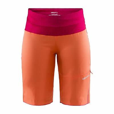 Kalhoty Craft W Cyklošortky Velo XT Shorts oranžová