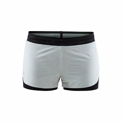 Kraťasy Craft W Šortky  Nanoweight Shorts světle zelená