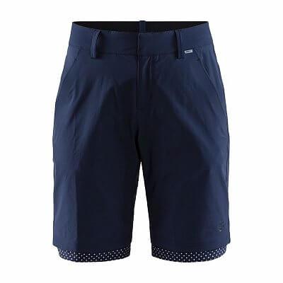 Kalhoty Craft W Cyklošortky Ride Habit Shorts tmavě modrá