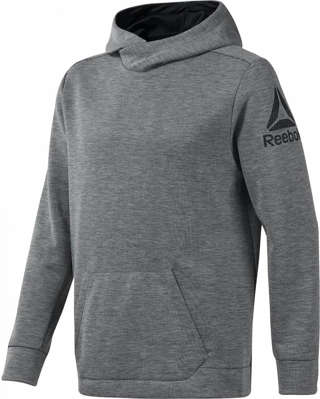 Reebok Workout Ready Double Knit Hoodie. Pánská sportovní mikina 1a5c607fdc0