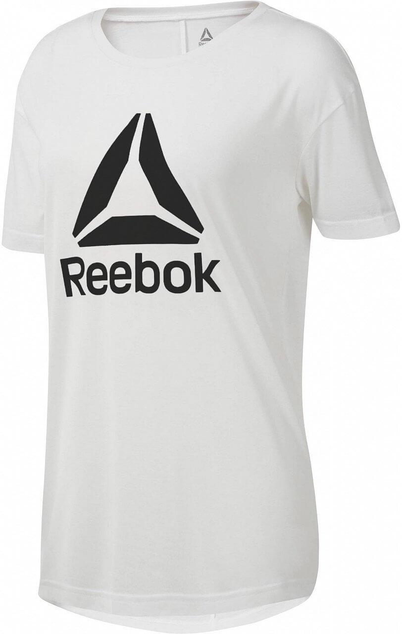 Reebok Workout Ready 2.0 Big Logo Tee. Dámské sportovní tričko f185616a8a