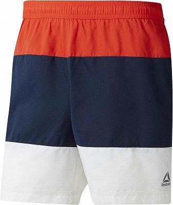 Pánské plavky Reebok Beachwear Modern Retro Short