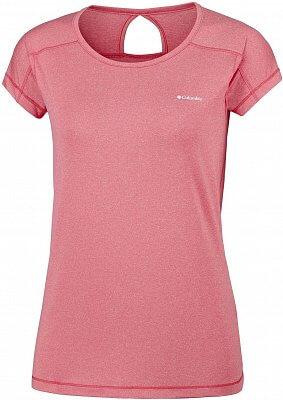 Dámské funkční tričko Columbia Peak to Point Short Sleeve Shirt