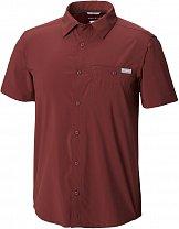 Columbia Triple Canyon Solid Short Sleeve Shirt