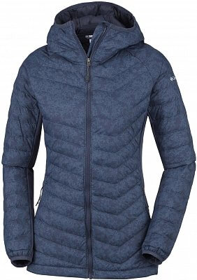 Dámská outdoorová bunda Columbia Powder Pass Hooded Jacket