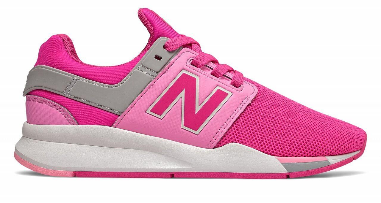 New Balance GS247FE - detské fashion topánky  b614fe2f3cf