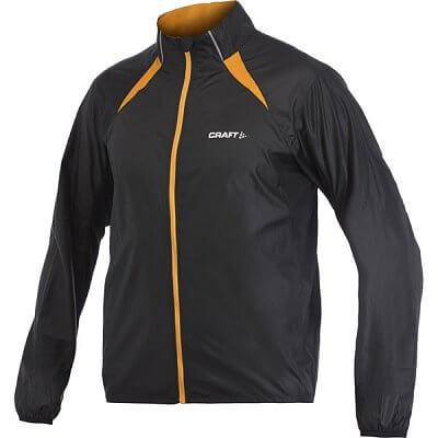 Bundy Craft Bunda PR Featherlight černá s oranžovou