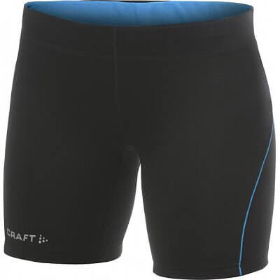 Kraťasy Craft W Kalhoty AR Fitness černá s modrou