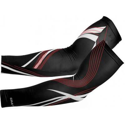 Kompresní návleky Craft Návleky na ruce Body Control černá s červenou