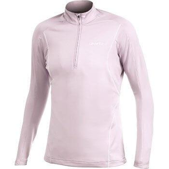 Mikiny Craft W Rolák Lightweight Stretch Pullover sv.růžová
