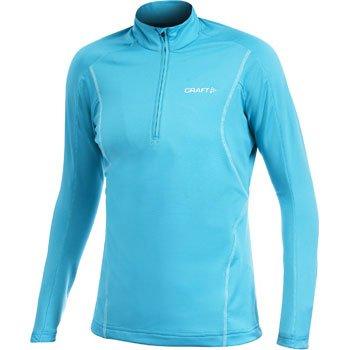 Mikiny Craft W Rolák Lightweight Stretch Pullover modrozelená