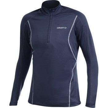 Mikiny Craft W Rolák Lightweight Stretch Pullover tmavě modrá