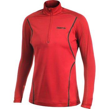 Mikiny Craft W Rolák Lightweight Stretch Pullover červená
