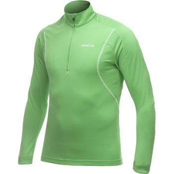 Mikiny Craft Rolák Lightweight Stretch Pullover zelená