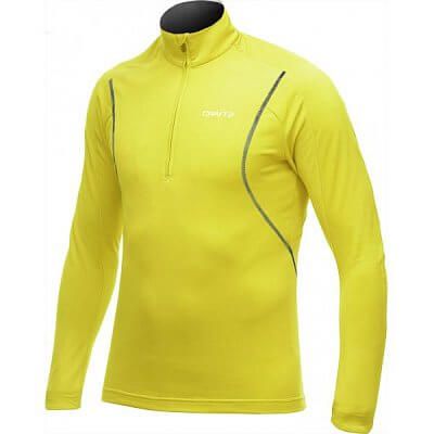 Mikiny Craft Rolák Lightweight Stretch Pullover žlutá