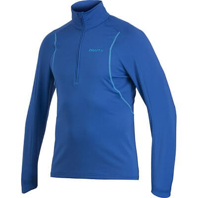 Mikiny Craft Rolák Lightweight Stretch Pullover modrá