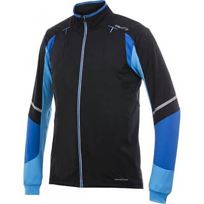 Craft Bunda Performance Run WP Stretch pánská černá s modrou