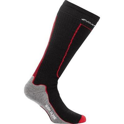 Ponožky Craft Podkolenky Warm Alpine černá