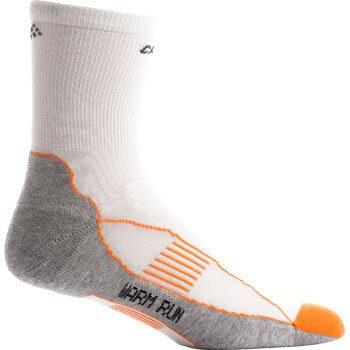 Ponožky Craft Ponožky Warm Run bílá