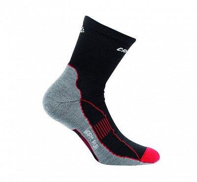 Ponožky Craft Ponožky Warm Run černá