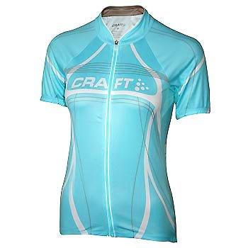 Trička Craft W Cyklodres PB Tour světle zelená