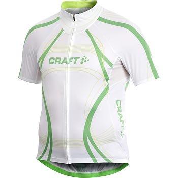 Trička Craft Cyklodres PB Tour bílá