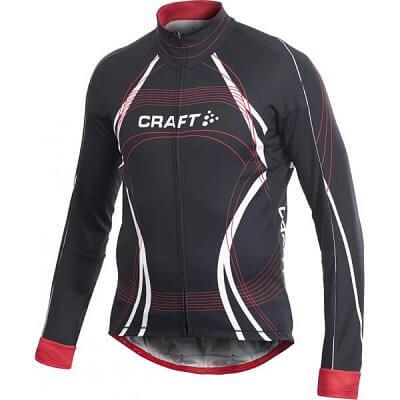 Trička Craft Cyklodres PB Tour Longsleeve černá