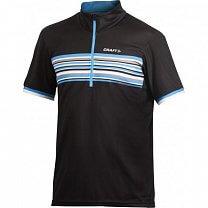 Craft Cyklodres PB Stripe černá s modrou