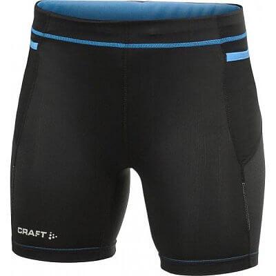 Kraťasy Craft W Kalhoty PR Hybrid Fitness černá s modrou
