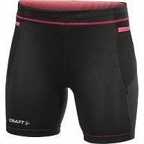 Craft W Kalhoty PR Hybrid Fitness černá s růžovou