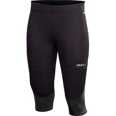 Kalhoty Craft W Kalhoty PR Hybrid Capri černá