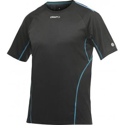 Trička Craft Triko PR černá s modrou