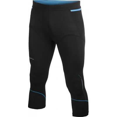 Kalhoty Craft Kalhoty Trail Knickers černá s modrou