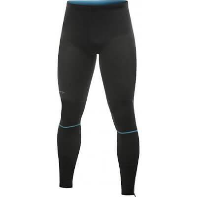 Kalhoty Craft Kalhoty PR Tights černá s modrou