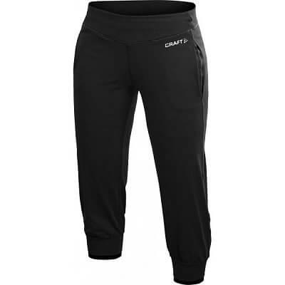 Kalhoty Craft W Kalhoty AR Femme Capri černá
