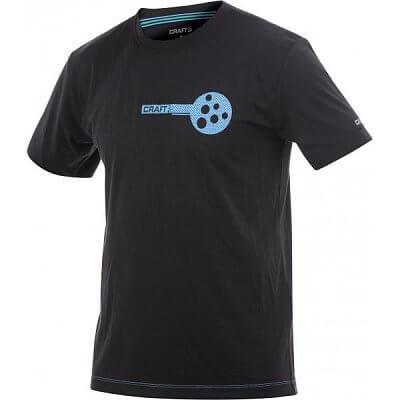 Trička Craft Triko AR Training černá s modrou