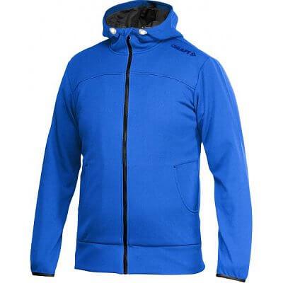 Mikiny Craft W Mikina Leisure Full Zip Hood modrá