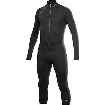 Trička Craft Overal Extreme Suit černá s modrou