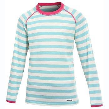 Trička Craft Triko Warm Wool Junior světle zelená